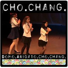 Bitch, I ain't Cho Chang!  (Watching AVPM 'cos of the anniversary :D )