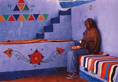 Woman in Nubia - Olivier Föllmi