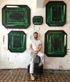"1,251 Likes, 41 Comments - Kurt Pio (@kurtpio) on Instagram: ""Let's Get Stoned!............ #green #emeraldcity #emerald #emeraldcut"""