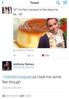 Haha Hamilton Squad and Anthony Ramos