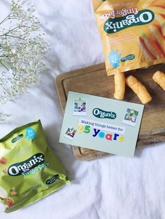 Organix Finger Foods: Carrot Sticks - www.adizzydaisy.com Carrot Sticks, Baby Weaning, Snack Recipes, Snacks, Finger Foods, Carrots, Chips, Snack Mix Recipes, Appetizer Recipes