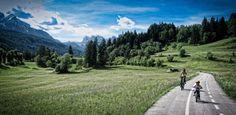 Lungo la #ciclabile delle Dolomiti