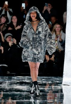 Gigi Hadid, Bella Hadid, Naomi Campbell and More Come Out for Rihanna's First Runway Collection: Glamour.com