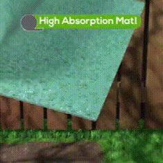 GrassGrow™ Biodegradable Grass Seed Protector Mat – Sunsdale Grass Seed Mat, Grass Rolls, Growing Grass, Back Garden Design, Garden Solutions, Home Landscaping, Back Gardens, Lawn And Garden, Lawn Care