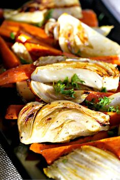 This dish is so simple to prepare yet the taste is absolutely wonderful and is an excellent way to enrich your diet. Both fennel and carrots have many important nutrients that promote good health