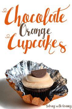 Terry's Chocolate Orange Cupcakes Recipe