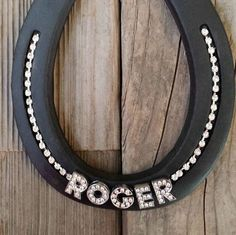 PERSONALIZED Horseshoes Wall Hangings by EECustomHorseShoes