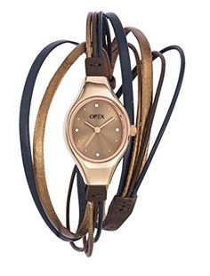 Opex - X2346LA3 - Filante - Montre Femme - Quartz Analogique - Cadran Marron - Bracelet Cuir Bleu Opex http://www.amazon.fr/dp/B0126S10WA/ref=cm_sw_r_pi_dp_ZNUgwb0W6V4Q6