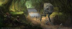 Star Wars: TCG - Forward Reconnaissance by AnthonyDevine.deviantart.com on @deviantART