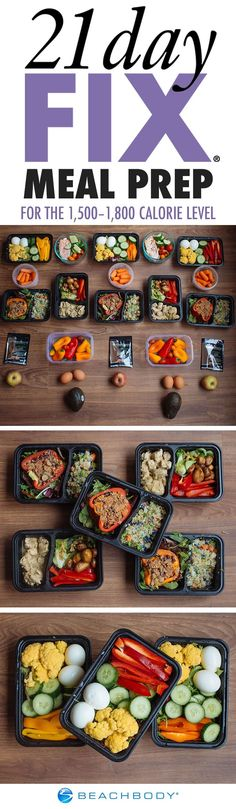 Meal Prep with Taco-Style Stuffed Peppers and Chicken Curry for the 21 Day Fix 1,500–1,800 Calorie Level | www.beachbody.com/beachbodyblog:
