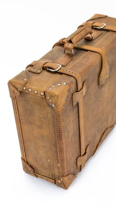 Antique Finnigans of London Luxury Leather Trunk by marybethhale ...