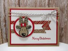 Try It Thursday - Stampin' Up! Peanuts and Peppers Papercrafting: Try It Thursday - Stampin' Up! Stampin Up Christmas, Christmas Cards To Make, Christmas Paper, Xmas Cards, Handmade Christmas, Holiday Cards, Christmas 2016, Stampin Up Cookie Cutter, Stampin Up Weihnachten