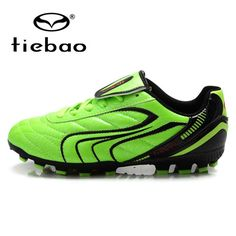 TIEBAO Professional Children Kids  Sneakers Training Soccer Cleats Outdoor  Football Boots Boys FG   HG 8f274c409e1dd