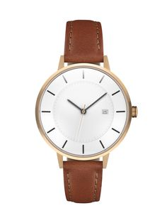 Inspired by the Oslo Opera House, this rose gold watch model features a two-layer lacquered varnish dial, Swiss quartz movement, and Italian leather strap. Cool Watches, Watches For Men, Women's Watches, Fashion Watches, Women's Fashion, Fashion Trends, Watch Model, Beautiful Watches, Accessories