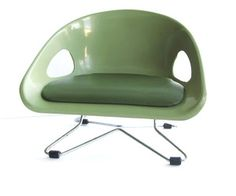 Image Of Vintage Cosco Modern Plastic Chair In Green The Jetsons, Plastic  Chairs, Child