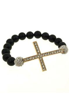 Cross Shaped Bracelet