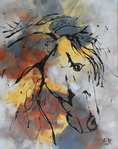 Hey, I found this really awesome Etsy listing at https://www.etsy.com/listing/385540158/painting-the-horse-n1