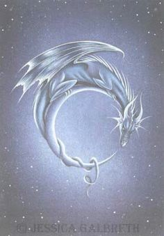 Dragon and crescent