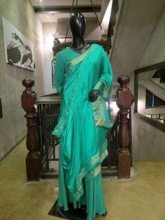 Banarasi Silk Drape Tunic is now available to be ordered at http://www.ekru.in/product/banarasi-silk-drape-tunic-3