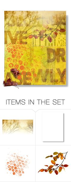 """""""Every leaf speaks bliss to me"""" by theother-stream ❤ liked on Polyvore featuring art, Fall, autumn, artset, artexpression and Autumncolors"""