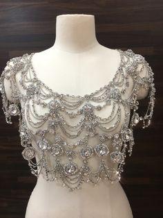 Shoulder Jewelry, Shoulder Necklace, Body Necklace, Fashion Accessories, Fashion Jewelry, Body Jewelry, Jewellery, Fantasy Dress, Fantasy Jewelry