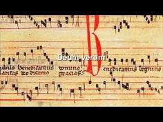 "Canto gregoriano. Medieval Gregorian chant.  Title: ""Invitatorium: Deum Verum""  Composer: Etienne de Liege  Service: Matins of the Feast of the Holy Trinity.  Performers: Psallentes  Album: De Liège: In Festo Sanctissimae Trinitatis"