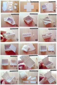 ... How to make lovely Jewelry box step by step DIY tutorial instructions ... Beautiful! See more awesome stuff at http://craftorganizer.org