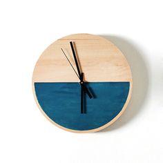 Colour block clock.