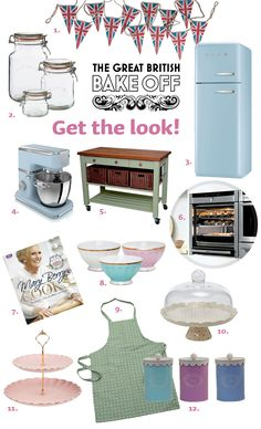 Win the Look of the Great British Bake Off!