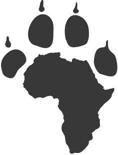 Africa Inspiration Home - Africa Safari Drawing - - Africa Art Photographs - Africa Sunset Painting - African Warrior Tattoos, African Tribal Tattoos, Map Tattoos, Body Art Tattoos, Tattoo Symbols, Sleeve Tattoos, Leon Logo, Afrika Tattoos, Lion Tattoo