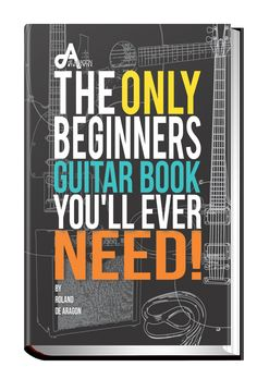 Ever thought of learning the guitar?  Well, today marks the official release of THE ONLY BEGINNERS GUITAR BOOK YOU'LL EVER NEED. Don't wait or procrastinate click below for a FREE SAMPLE! http://de-aragon.com/only-beginners-guitar-book-you-will-ever-need/