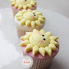 Little Ray Of Sun Cupcakes