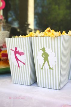 Love the idea of a peter pan/fairy birthday party. from blog-Life In The Thrifty Lane