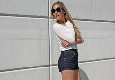 American Vintage and Zara High Waist Shorts