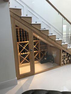 Top 70 Best Basement Stairs Ideas Staircase Designs is part of diy home decor Pillows Colour - From modern and contemporary to rustic and traditional, discover the top 70 best basement stairs ideas Explore unique lower level staircase designs Basement Renovations, Home Remodeling, Garage Renovation, Bathroom Remodeling, Home Design, Design Ideas, Bar Designs, Escalier Design, Stair Storage