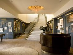 soho house, interior design, west hollywood, los angeles, herringbone wood floors, robin's egg blue, carrara marble