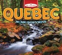 Quebec: Je me souviens by Katie Goldsworthy 917.14 GOL Did you know that Québec produces most of the world's maple syrup, or that one of Canada's oldest cities is in Québec? Discover more about the province of Québec.