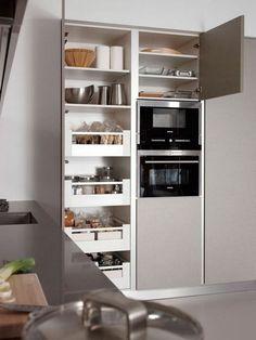Modern Home Decor Kitchen Kitchen Room Design, Kitchen Sets, Kitchen Cupboards, Home Decor Kitchen, Kitchen Interior, New Kitchen, Home Kitchens, Kitchen Island, Small Cupboard