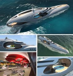already in pre-production mode with naval architects on board, so to speak. Hardly your typical houseboat, it is a virtual cruise ship for the rich and famous who can afford to buy it when it is fully planned and built. Want this ;)