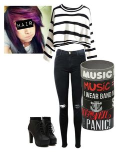 """""""Untitled #57"""" by bandsaremylife09 ❤ liked on Polyvore featuring J Brand"""