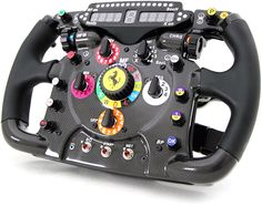 Full Size 2011 Ferrari 150° Italia Steering Wheel Replica (Image courtesy Ferrari)