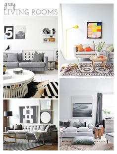 A collection of Gray Living Room Designs Living Room Update, Living Room Grey, Home Living Room, Living Room Designs, Living Spaces, Rooms Home Decor, Home Decor Furniture, Outdoor Living Rooms, I Coming Home