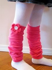 All the other girls at dance have leg warmers. Tori needs some! She keeps the place cooler so they aren't too hot once they start working up a sweat but when they first get there, it is so cold!