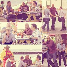 NCIS LA + Hawaii five 0 <3 My brain almost couldn't handle it when I saw the two shows collide >_<.