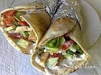 Cooking Recipes, Healthy Recipes, Healthy Food, Chicken Wraps, Food And Drink, Mexican, Ethnic Recipes, Tortillas, Pizza
