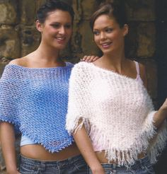 Instant Download - PDF-  Adult Poncho Knitting Pattern One size