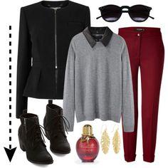 Red & Black. #FFR