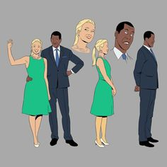 """New designs for upcoming """"Lastman"""" french animated TV series directed by Jeremie Perin. Character Sheet, Character Drawing, Character Concept, Concept Art, Character Design, Comics Illustration, Illustrations, Black Characters, Cartoon Characters"""