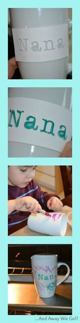 Mothers Day: Homemade Sharpie Mug Gift Idea - The Taylor House