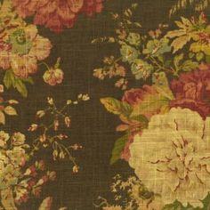 Waverly Ballad Bouquet fabric